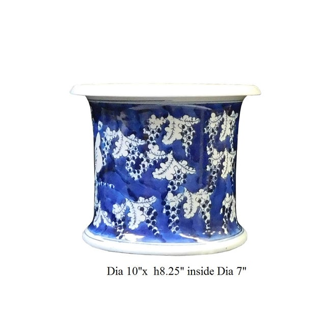 Chinese Blue & White Porcelain Butterfly Bowl - Image 6 of 6