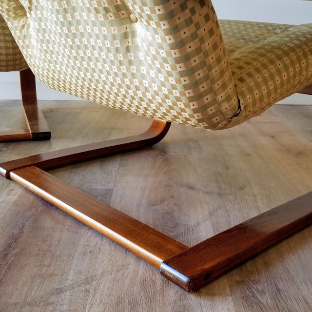 1970s Westnofa Bentwood Lounge Chairs - a Pair For Sale In Seattle - Image 6 of 13