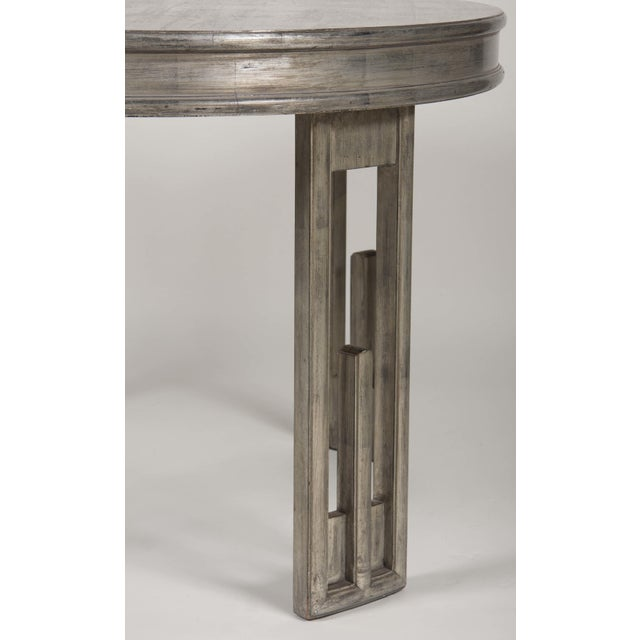 Silver Leaf Dining Table by James Mont For Sale - Image 12 of 13