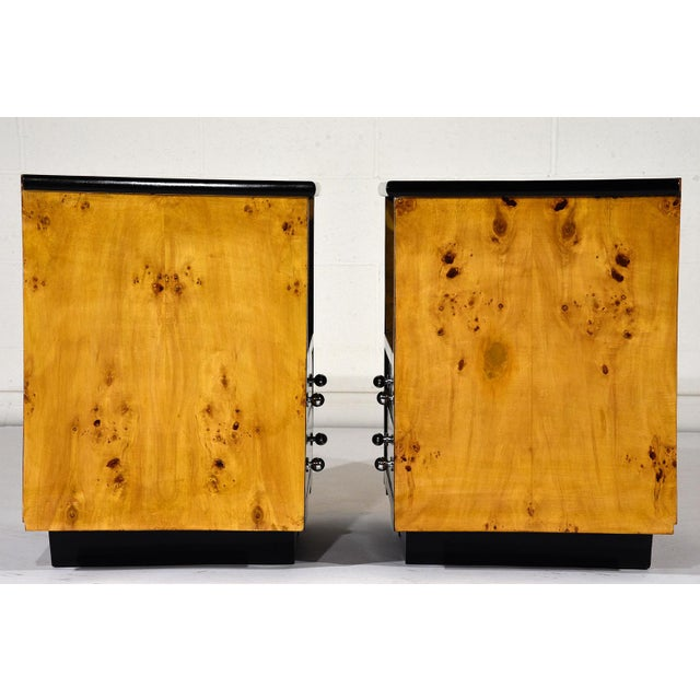 Pair of Mid-Century Modern Nightstands or Side Tables For Sale In Los Angeles - Image 6 of 10