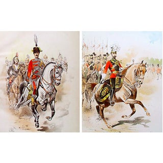 19th Century Horse & Rider Prints - Pair For Sale