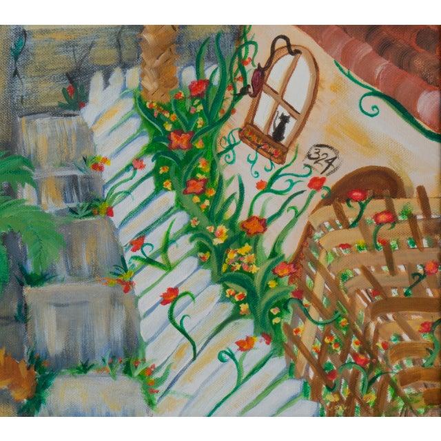 West Side of Santa Cruz Acrylic Painting - Image 4 of 5