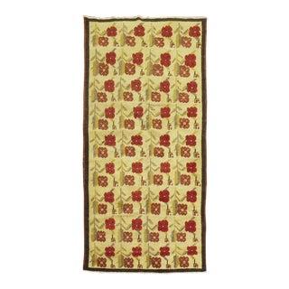 Turkish Floral Rug, 4'1'' X 7'5'' For Sale
