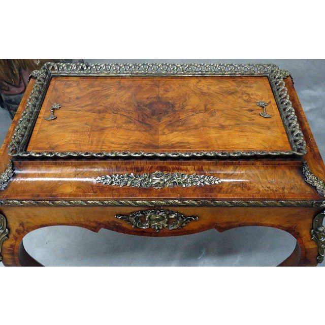 Louis XV Style Inlaid Cellarette For Sale - Image 4 of 7
