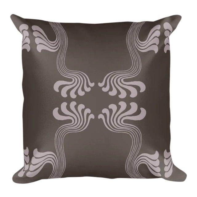 Art Nouveau Thyself Throw Pillow For Sale
