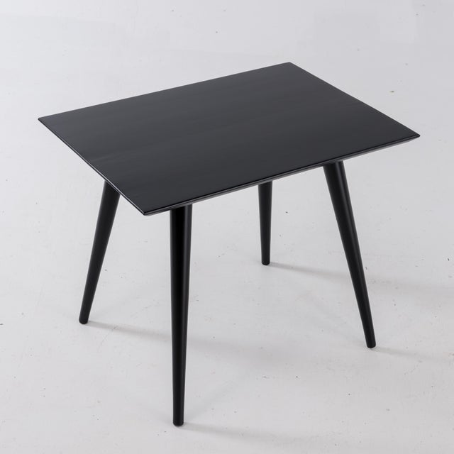 Black 1960s Mid-Century Modern Paul McCobb for Winchendon Plannar Group Side Tables - a Pair For Sale - Image 8 of 13