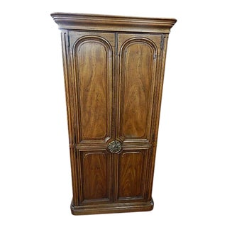 Henredon Four Door Armoire Traditional Design For Sale