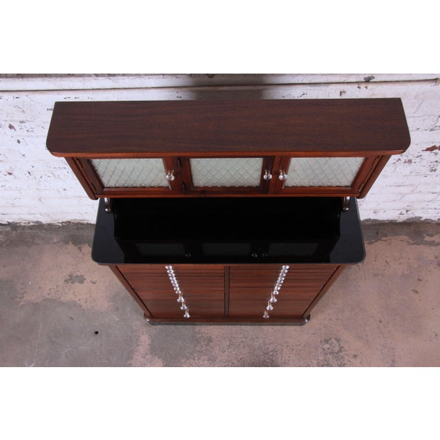 1920s Exceptional Antique 22 Drawer Mahogany Dental Cabinet For Sale - Image 11 of 13