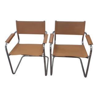 Mid Century Modern Mart Stan Cantilever Chairs - A Pair For Sale