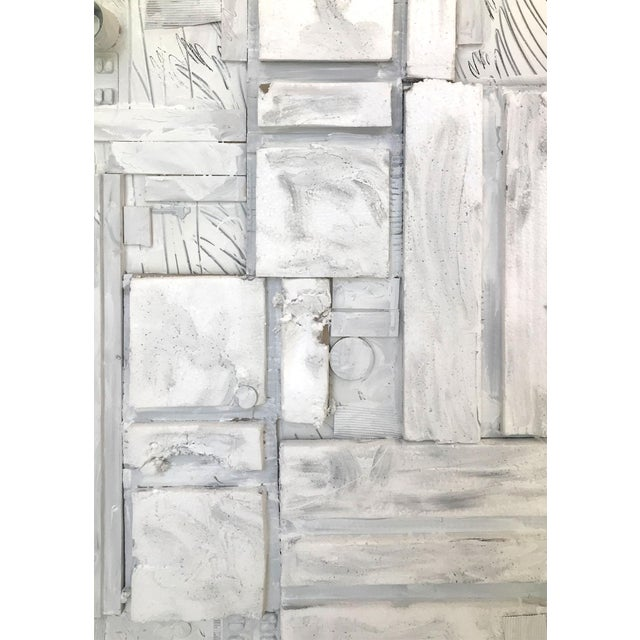 Paint Large Contemporary Mixed Media Painting VII by William McLure For Sale - Image 7 of 9