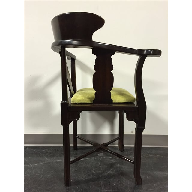 Lane Vintage Mid-Century Corner Chair - Image 6 of 11