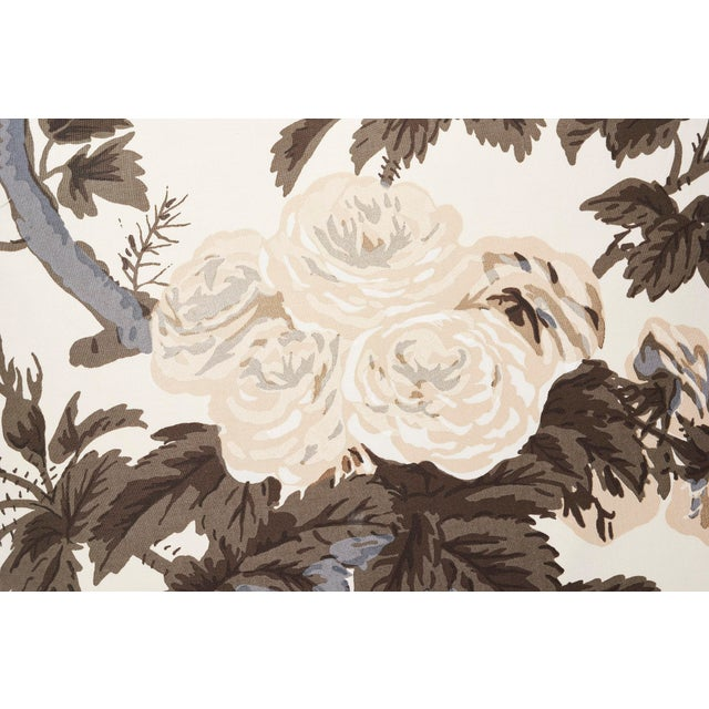 Schumacher Schumacher Double-Sided Pillow in Pyne Hollyhock Print For Sale - Image 4 of 9
