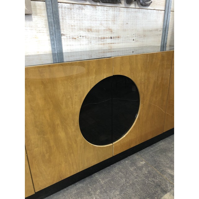 1980s Modern Wood Credenza by Casa Bique For Sale - Image 5 of 9