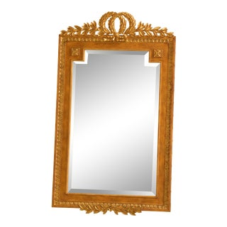 Labarge French Louis XV Style Decorator Beveled Mirror For Sale