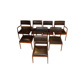 Mid Century Foster McDavid Dining Chairs - Set of 8 For Sale