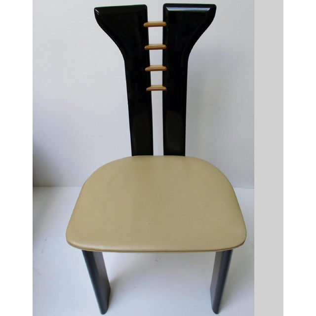 Vintage Italian Dining Chairs - Set of 6 - Image 4 of 11