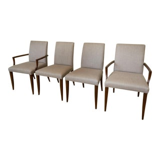 Laura Kirar for Baker Charla Dining Chairs- Set of 4 For Sale