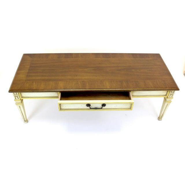 Mid-Century Walnut Heritage Coffee Table - Image 3 of 8