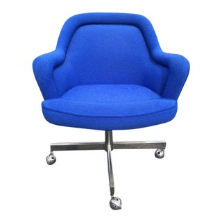 Mid-Century Swivel Chair in the Style of Max Pearson For Sale