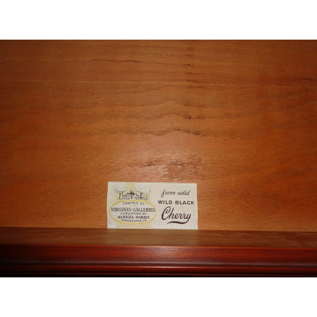 Henkel Harris Black Cherry Gentleman's Chest 173 - Image 10 of 10