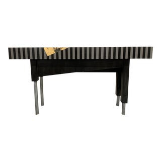 1980s Memphis Style Postmodern Entry Table For Sale