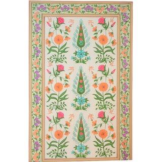 Vintage Topiary Folk Art Painting, Jaipur For Sale