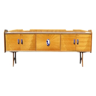 20th Century Italian Ico Parisi Style Credenza For Sale