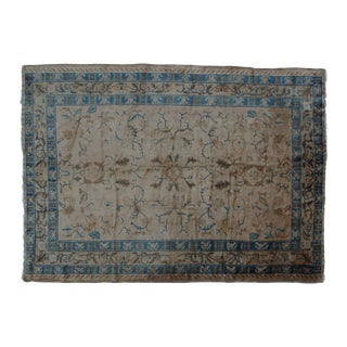 "1910's Leon Banilivi Antique Chinese Peking Rug-6' X 8'3"" For Sale"
