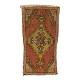 Turkish Handmade Bohemian Rug - 1′6″ × 3′2″