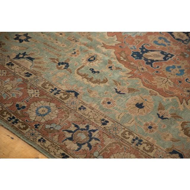 """1940s Vintage Distressed Tabriz Carpet - 8'5"""" X 10'7"""" For Sale - Image 5 of 12"""