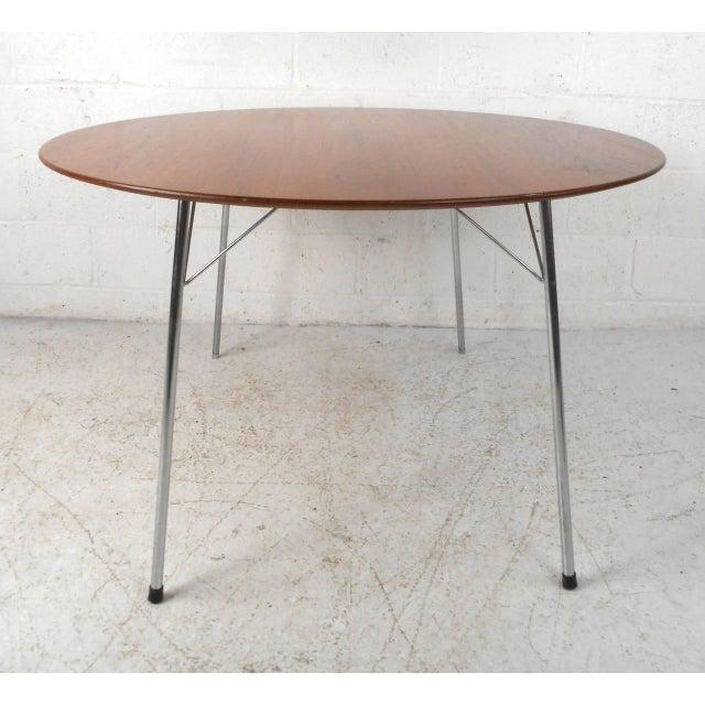 Mid-century Modern Teak Dining Table by Arne Jacobsen for Fritz Hansen - Image 7 of 7