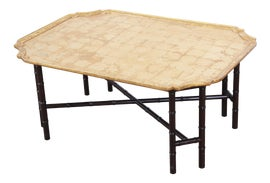 Image of Faux Bamboo Coffee Tables