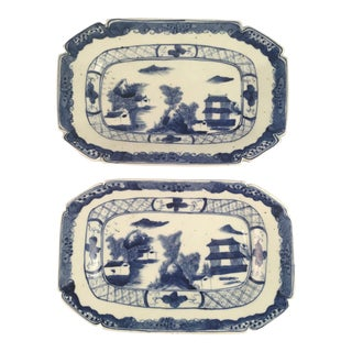 Antique Chinese Plates - A Pair