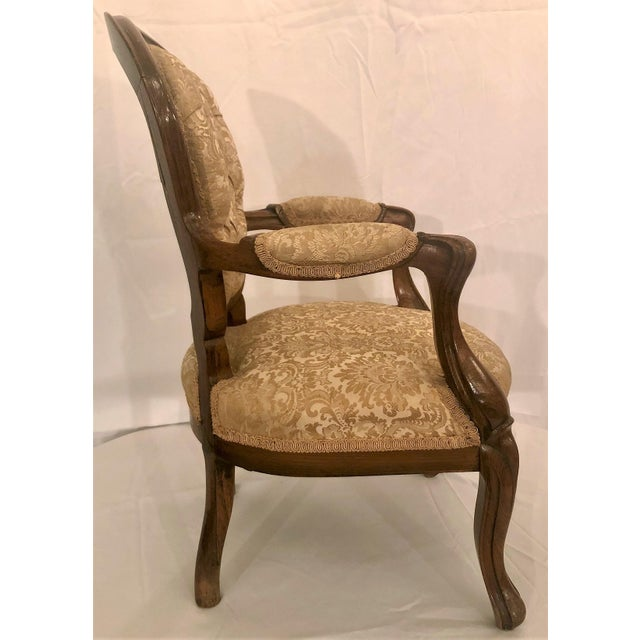 Traditional Antique French Rosewood Child's Chair. For Sale - Image 3 of 4