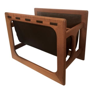 Large Salin Mobler Magazine Rack For Sale