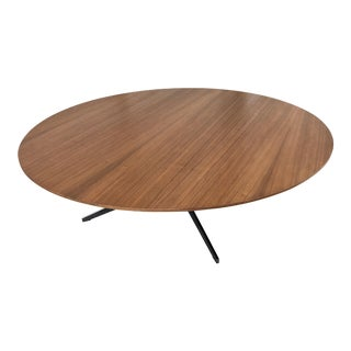 Modern Round Coffee Table by Wolfgang C.R. Mezger