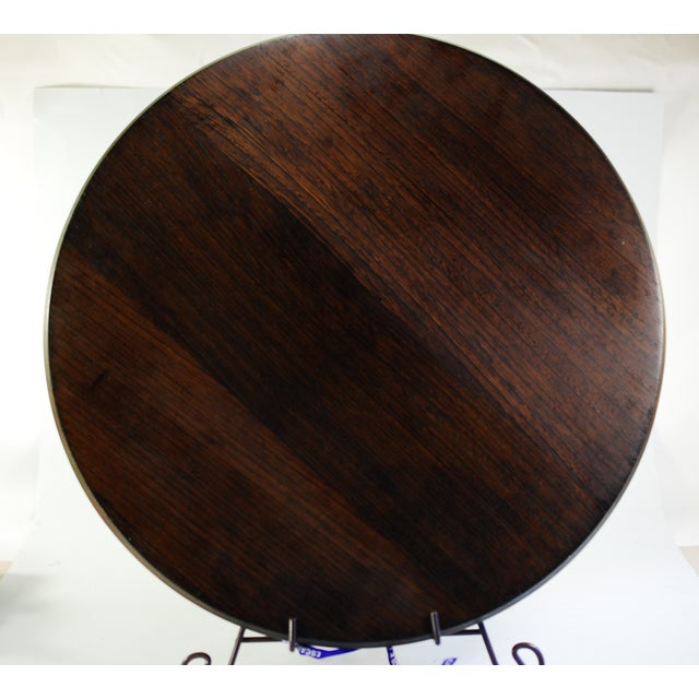 Dansk Wenge & Teak Tray & Cheese Board For Sale - Image 5 of 7