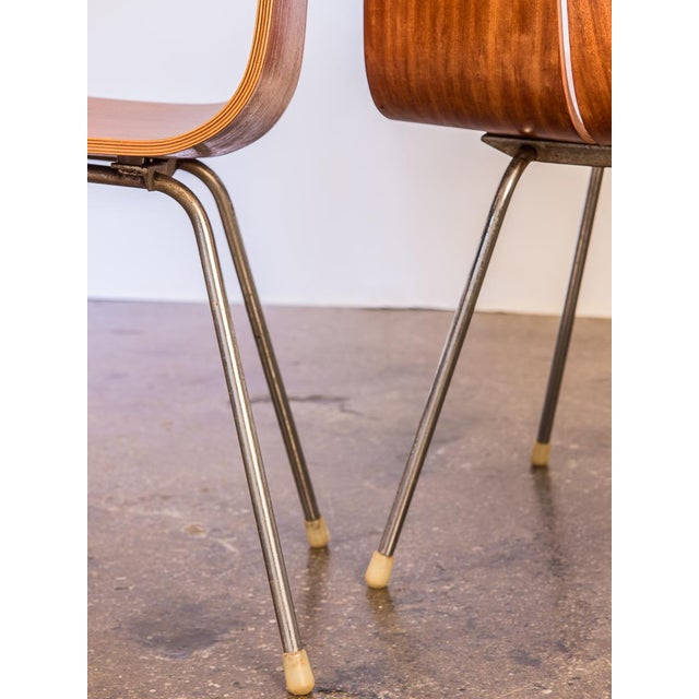 Metal Hans Bellmann GA Molded Dining Chairs - a Pair For Sale - Image 7 of 11