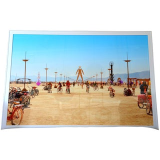 Framed Photo Taken at Burning Man Music and Art Festival For Sale