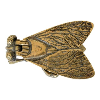 Brass Fly Trinket Box