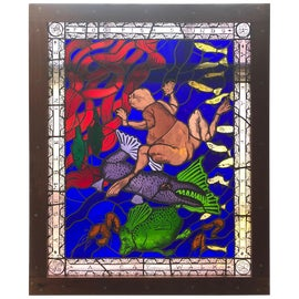 Image of Art Glass Architectural and Garden Elements