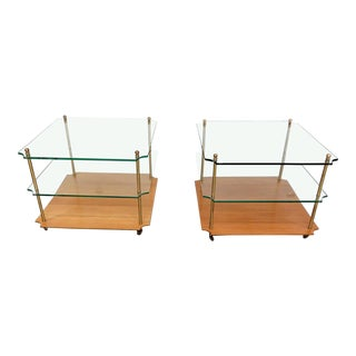 Pair of Regency Style End Tables For Sale