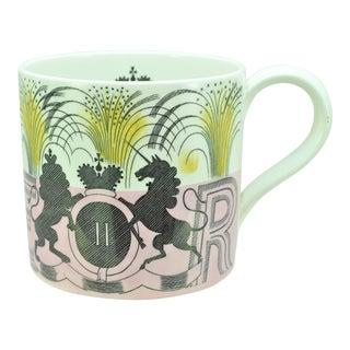 Wedgwood Eric Ravilious Elizabeth II Coronation Oversize Mug Circa 1953 For Sale