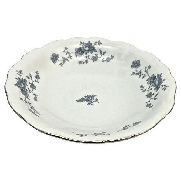 Blue Haviland Blue Garland Plates - Set of 9 For Sale - Image 8 of 9
