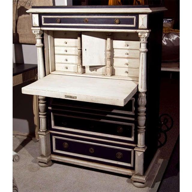 Gustavian (Swedish) Swedish Gustavian Style Secretary Drop-Front Desk For Sale - Image 3 of 10
