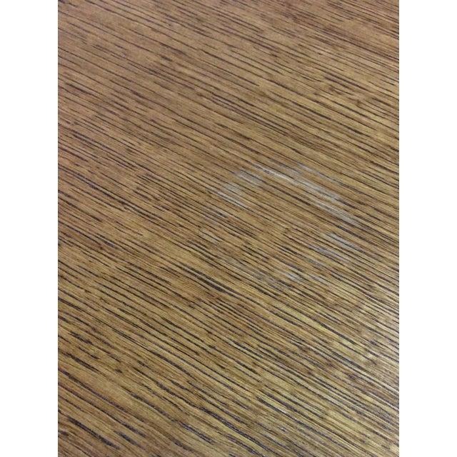 Veneer Modern Wood Side Tables - A Pair For Sale - Image 7 of 7