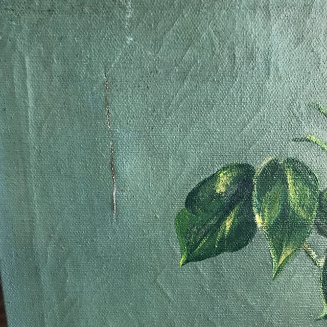 Vintage Still Life Rose Painting - Image 6 of 8