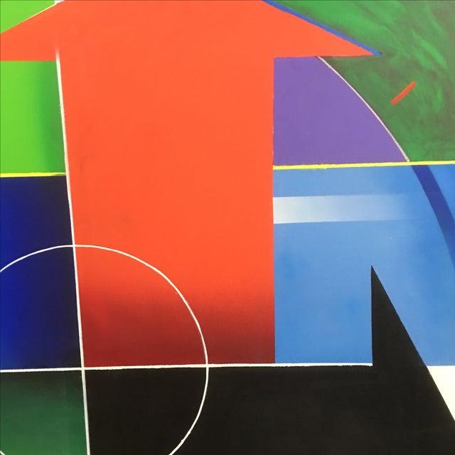 Blanchard Large Modernist Painting - Image 4 of 7