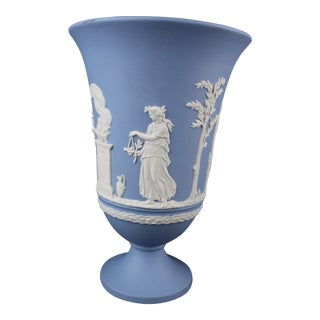 Vintage Mid-Century Wedgwood Urn For Sale
