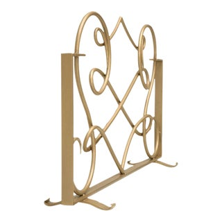 Customizable Fire Screen in the Style of Rene Drouet For Sale